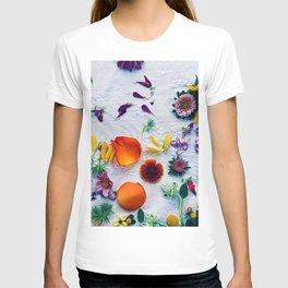 Bouquet of Petals and Flowers Still Life T-shirt