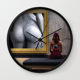Art Museum Wall Clock