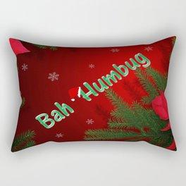 Bah Humbug Rectangular Pillow