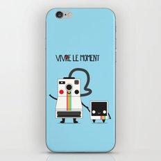 Vivre le moment iPhone & iPod Skin