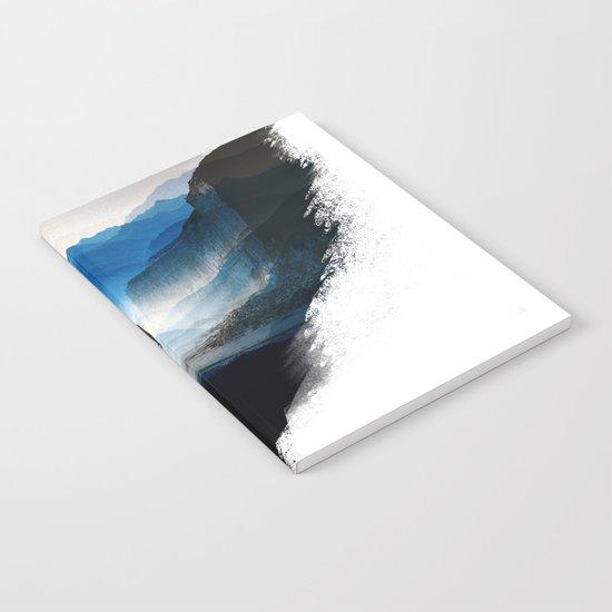 Darker than blue Notebook