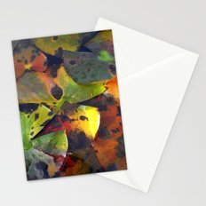 autumn lily pads IV Stationery Cards