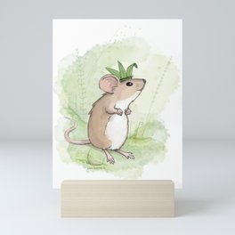 A Little Mouse Prince Named Reed Mini Art Print