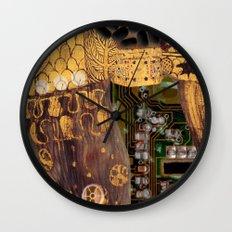 Klimt´s Judy Collage 2 Wall Clock