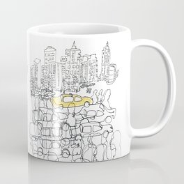 NYC yellow cab Coffee Mug