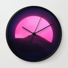 Without You (New Sun II) Wall Clock