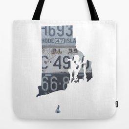 Vintage Rhode Island Tote Bag