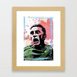 Kirk Douglas - Path of Glory Framed Art Print