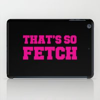 mean girls iPad Cases featuring Mean Girls by Maria Giorgi