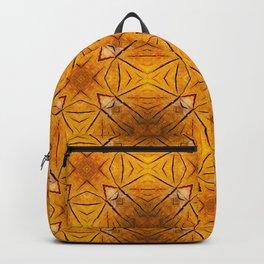 Kaleidoscope Tree rings Backpack