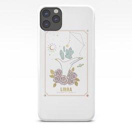 Libra Zodiac Series iPhone Case