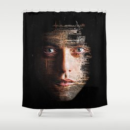Mr Robot Shower Curtain