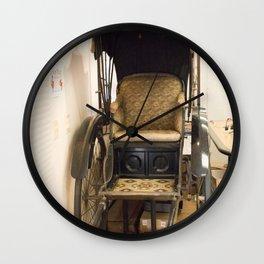 Japanese Pedicab Wall Clock