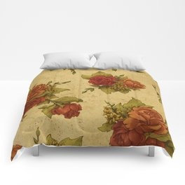 Antique Wallpaper 1 Comforters