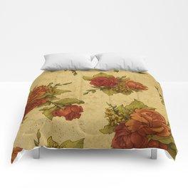 Antique Wallpaper 1 Comforters
