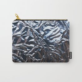 An abstract foil texture. Carry-All Pouch