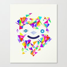 Chromatic character  Canvas Print