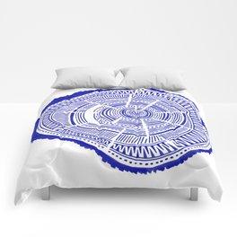 Ponderosa Pine – Navy Palette Comforters