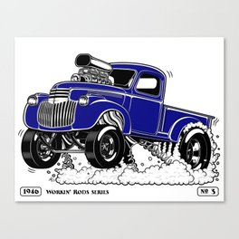 1946 Chevy Pick-up – BLUE Canvas Print