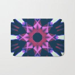 Dark Violet Mandala Bath Mat