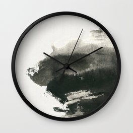 A boat in the wild Wall Clock