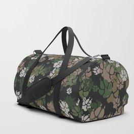 Canine Camo WOODLAND Duffle Bag