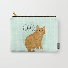 What's New Kitty Cat Carry-All Pouch