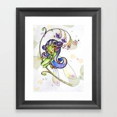 Lilium Fairy Framed Art Print