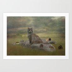 The Mouser Art Print