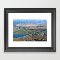 Great Day for a Balloon Ride Framed Art Print