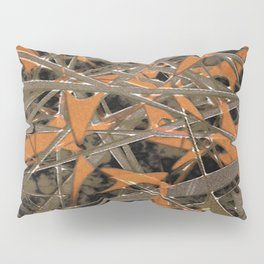 Intricate Abstract Print Pillow Sham