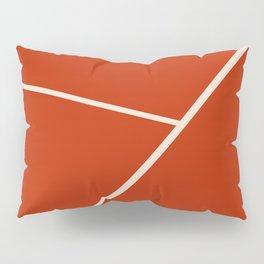 Tennis court gravel Pillow Sham