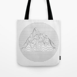 Mountain lines Tote Bag