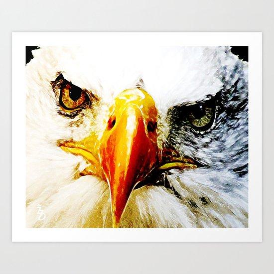 Eagle Eyed  Art Print