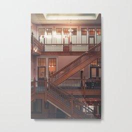 Harris Avenue Building Metal Print