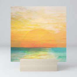 Summer Sunset Mini Art Print