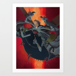 The Dreamteller of Anguish Art Print