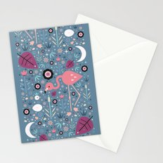 Flamingo & Chick Stationery Cards