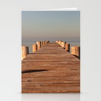 boardwalk empire Stationery Cards featuring boardwalk by Photoplace