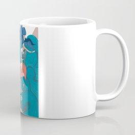 Nautical Strong Man and Sirens of the Sea Coffee Mug