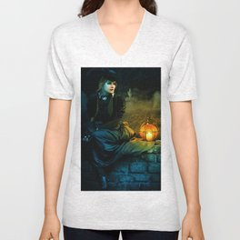 Mourning Light Unisex V-Neck