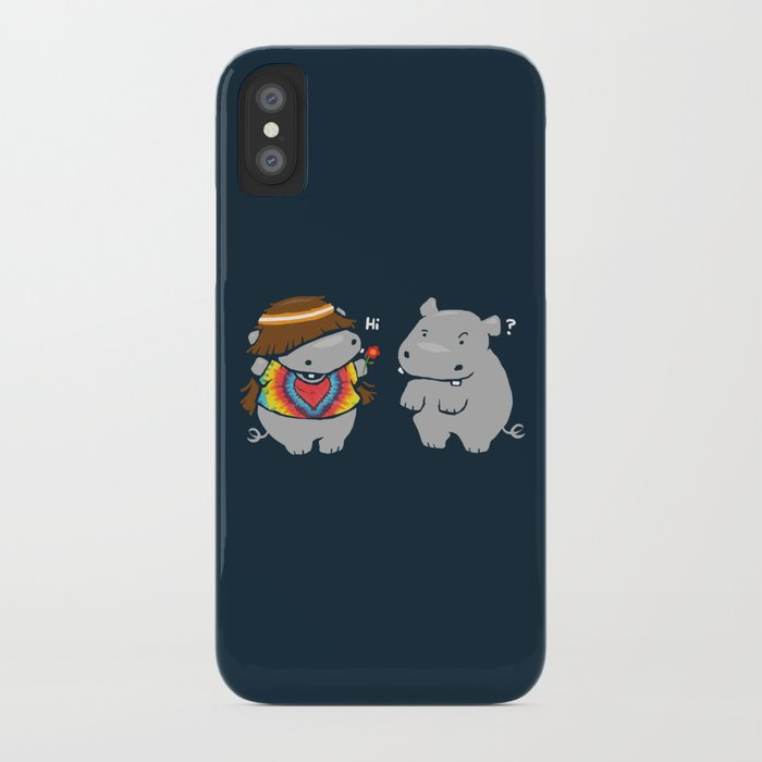 Hippypotamus iPhone Case