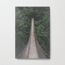 Lynn Valley IV (color) Metal Print