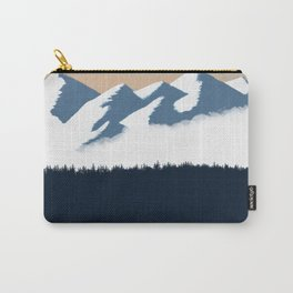 Olympic Mountains Sunset 2 Carry-All Pouch