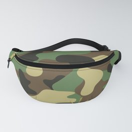 CAMO & GOLD GLITTER BOMB DIGGITY Fanny Pack