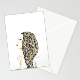 yellow rasta Stationery Cards