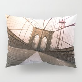 Brooklyn Bridge, New York City Pillow Sham