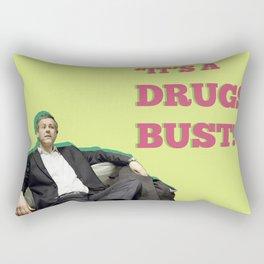 It's A Drugs Bust! Rectangular Pillow