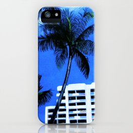 Fort Lauderdale Skyline iPhone Case
