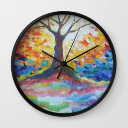 Tree Of Hope Wall Clock